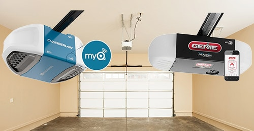 How Much Will Smart Garage Door Openers Cost You Listed By Price