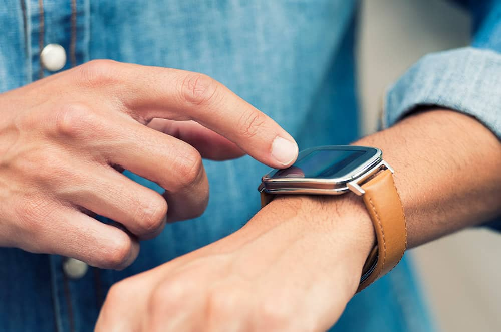 Smartwatch touch