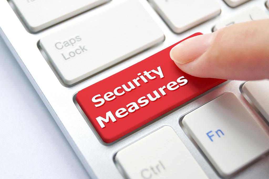Security Measures Button