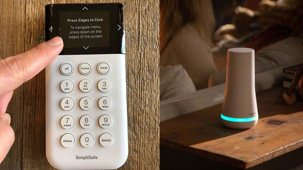 SimpliSafe Keypad and Base station