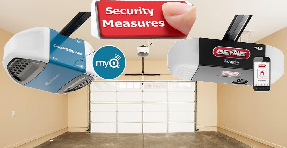 Garage Door Controllers Security