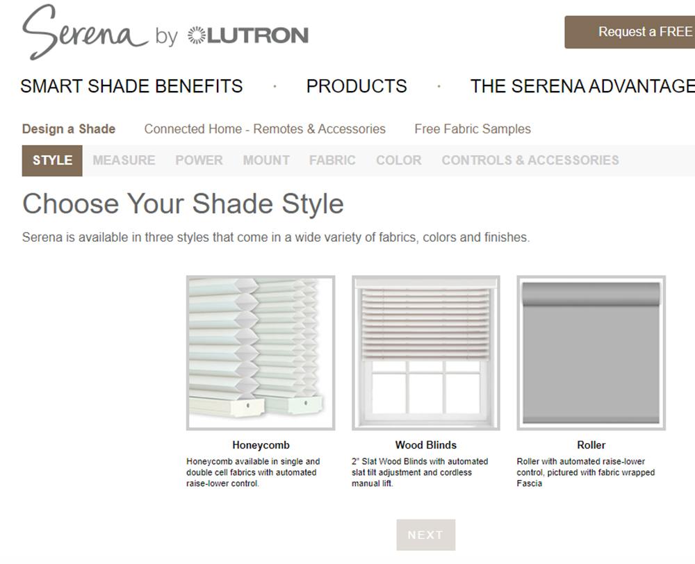 Serena Shades Choose Style