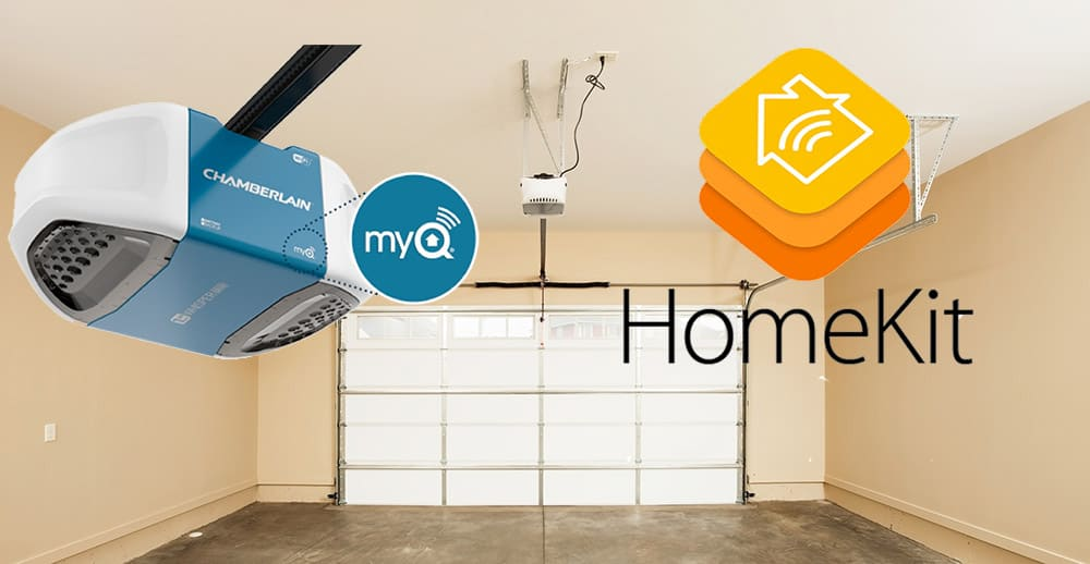 HomeKit and Chamberlain MyQ Smart Garage