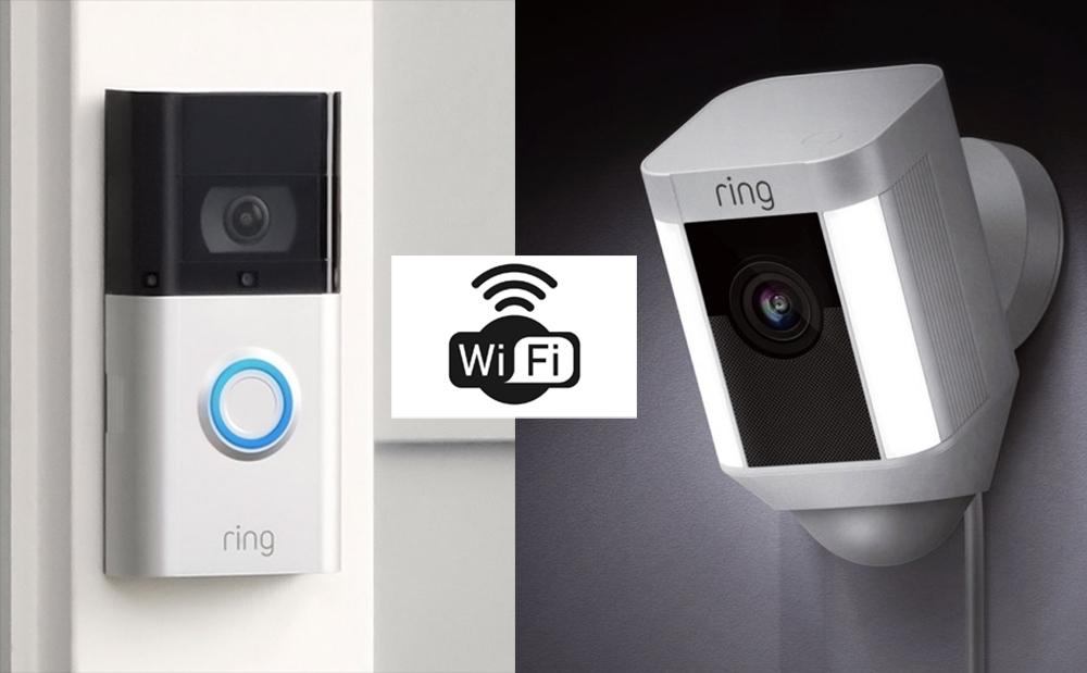Ring Video Doorbell & Ring Camera Wi-Fi
