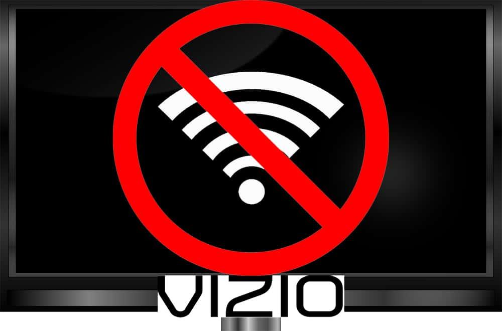 Vizio No Wifi