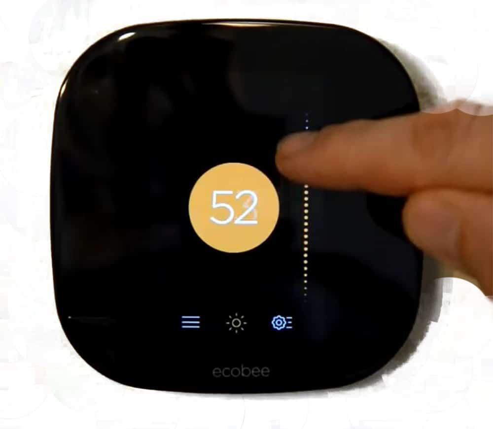 Ecobee Adjust Temperature
