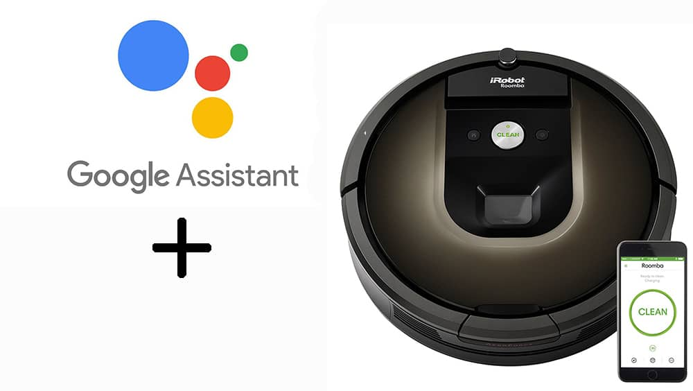 Roomba and Google Assistant