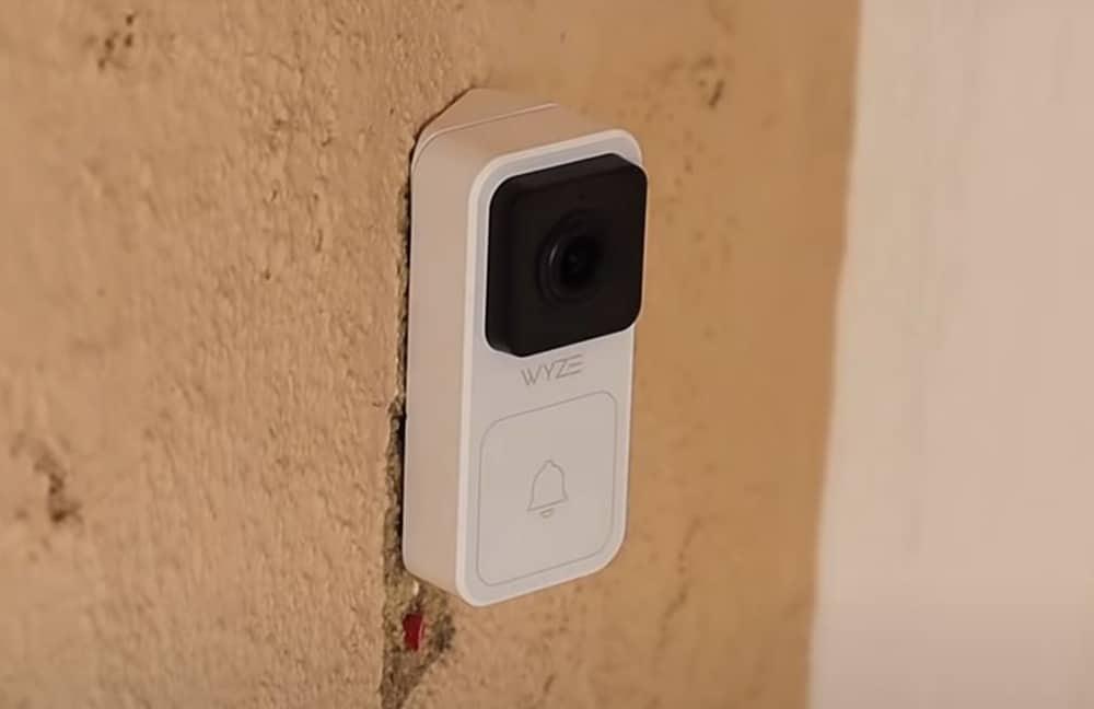 Wyze Doorbell Installed