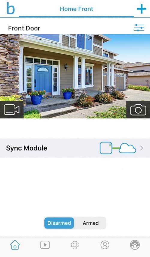 Blink_App_Home_Screen