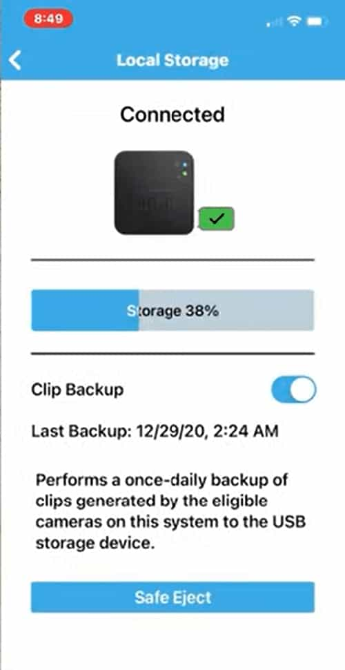 Blink_App_Local_Storage_page